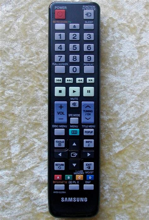 Remote Home Theater Samsung Samsung Remote Ah59 02291a For Home Theater Ebay