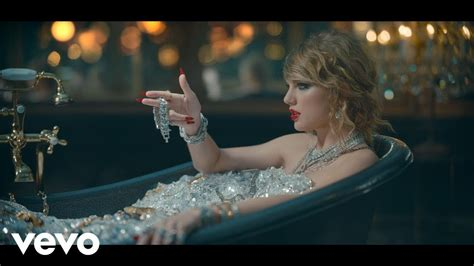 singing in the bathtub lyrics taylor swift look what you made me do youtube