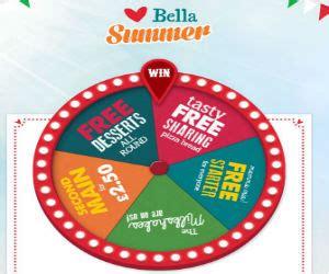 printable vouchers bella italia bella italia spin the wheel to win a free treat or