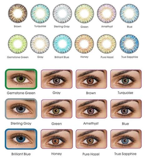 the 25 best color contacts ideas on colored