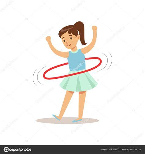 imagenes niños haciendo educacion fisica chica haciendo hula hoop ni 241 o practicando diferentes