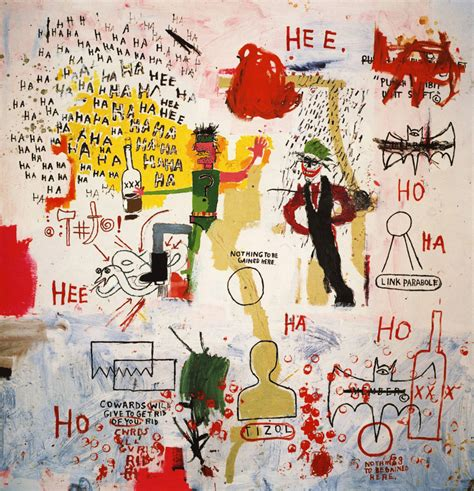 riddle me this batman 1987 jean michel basquiat