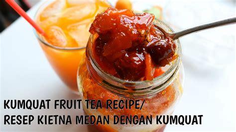 Ala Medan kumquat fruit drink recipe resep jeruk kietna ala medan