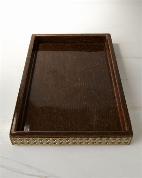 Modern Bathroom Tray Vanity Tray Bronze Gold Contemporary Bathroom
