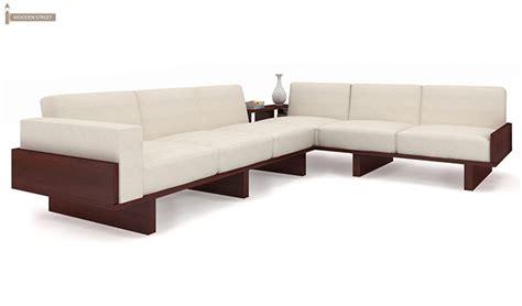 different types of wooden sofa sets audrey 6 seater l shape corner sofa set mahogany finish