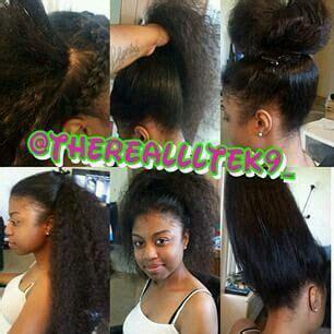 simple and versatile african hair style versatile sew in hair work pinterest hair style