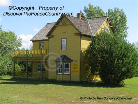 Homes fort vermilion alberta the old bay house of 1908