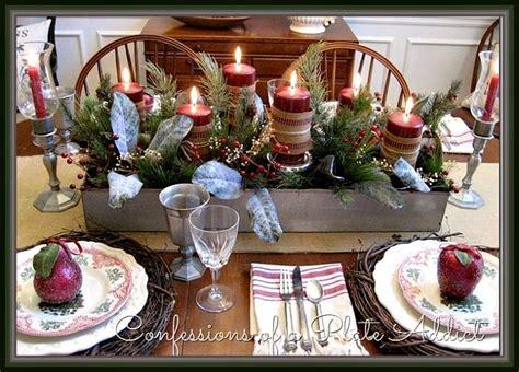 vintage england style tablescape set farmhouse england christmas tablescape tablescapes pinterest vintage blog