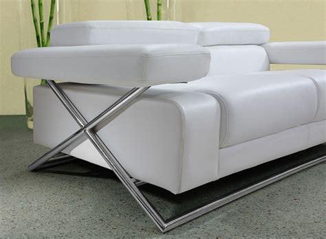 white sofa sets leather linx modern white leather sofa set black design co