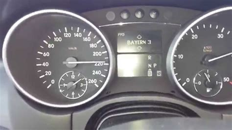 mercedes benz ml   speed  acceleration youtube