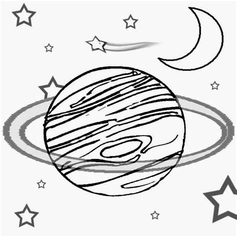 Galerry printable planets coloring book