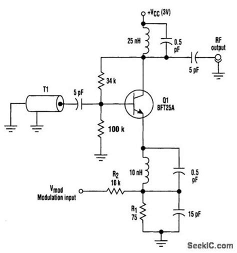 varactor diode oscillator varactor oscillator circuit 28 images varactor 74s124 high frequency vco with varactor