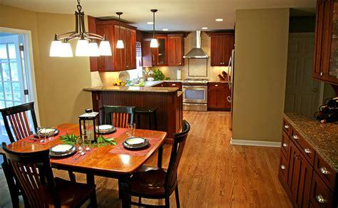 Dining room and kitchen design that blends   Artdreamshome