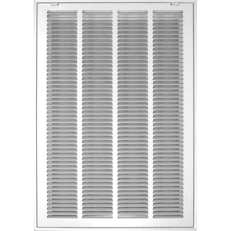 Ventilation Grilles For Ceilings by Shop Accord Ventilation 525 Series White Steel Louvered