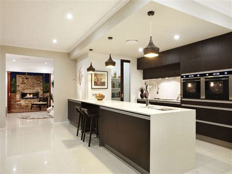 Simple Backsplash Ideas For Kitchen by Modern Galley Kitchen Design Using Granite Kitchen Photo