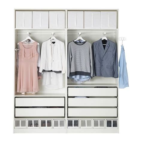 Armoire Pax Ikea Blanc by Pax Armoire Penderie Blanc Blanc Bedroom Ideas