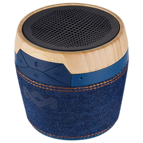 house of marley best buy house of marley chant mini bluetooth wireless speaker denim portable bluetooth