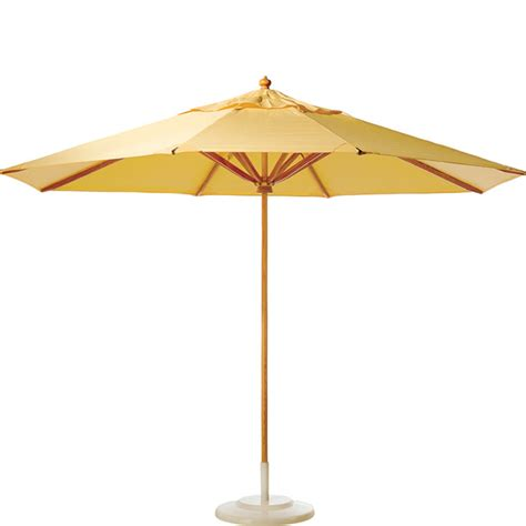 Patio Table Umbrella Wicker Umbrella Tables Outdoor And Patio Hickory Park Furniture Galleries