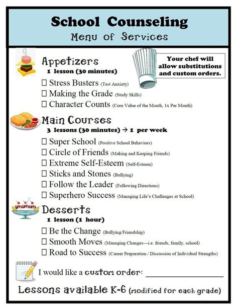 lesson plan template guidance counselors 11 best referral forms images on pinterest school social