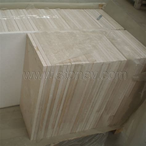 beige marble tiles from china