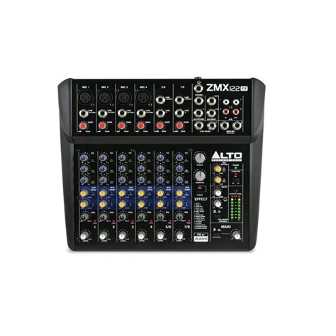 Zephyr Phase One alto zephyr zmx122fx 8 channel mixer