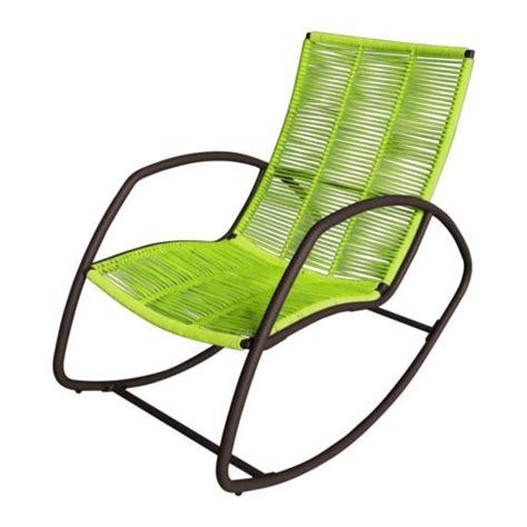 fauteuil de jardin carrefour carrefour rocking chair 224 cordes de jardin soho acier galvanis 233 vert pas cher achat