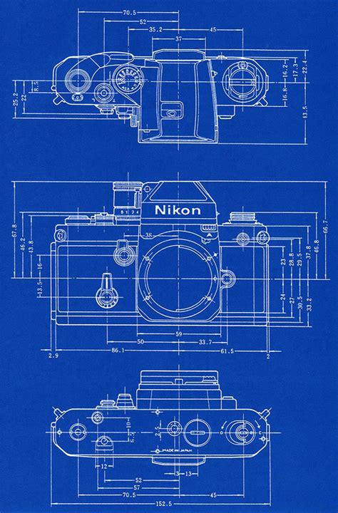 film blueprint shooting film blueprints of nikon slr cameras