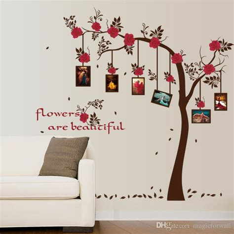 Poster Inspiratif Do What You Every Day Hiasan Dinding picture frame flowers tree wall stickers memory tree