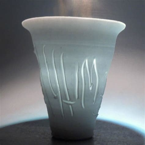 Light Vase by Light Gatherer Porcelain Vase By Rudolf Quot Rudy Quot Staffel For Sale At 1stdibs