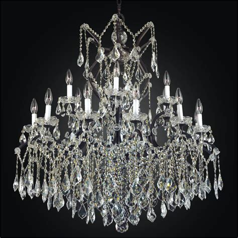 Chandelier Big Large Wrought Iron Chandeliers Large Chandeliers World Iron 543a Glow 174 Lighting