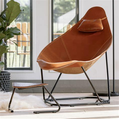 cuero design modern leather armchair abrazo cuero design