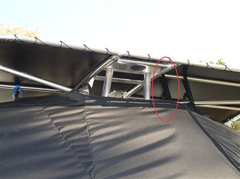 boat t top installation custom t top boat cover installation care guide