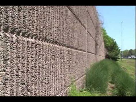 vdot noise barrier walls youtube