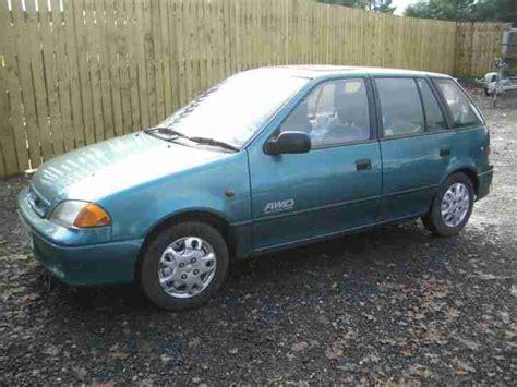 subaru justy 4x4 four wheel drive fwd 1996 choice of 3