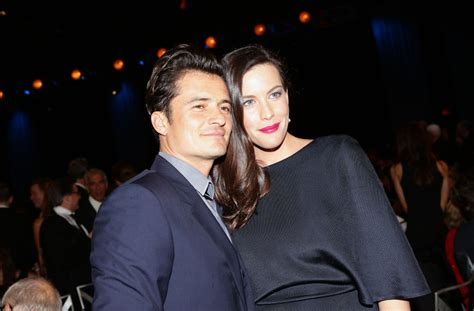 orlando bloom dated liv tyler addresses rumors that she once dated orlando