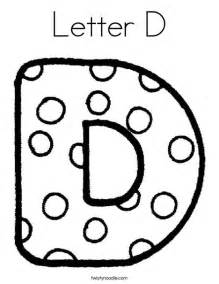 letter d coloring page from twistynoodle com my abc s