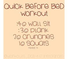 bedtime workout on pinterest before 1000 images about before bed workouts on pinterest before bed workout beds and to work
