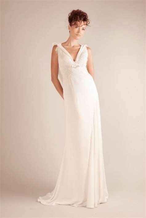 Gown of Lace & Silk crepe   Sell My Wedding Dress Online