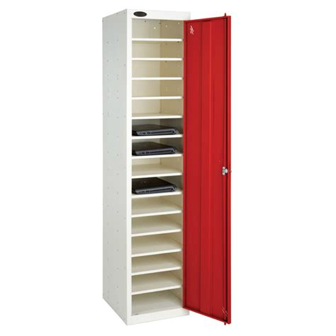 Shelf Locker by Single Door 10 Shelf Laptop Storage Locker