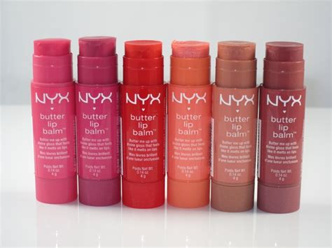 Butter Lipgloss Nyx Harga nyx butter lip balm review swatches musings of a muse