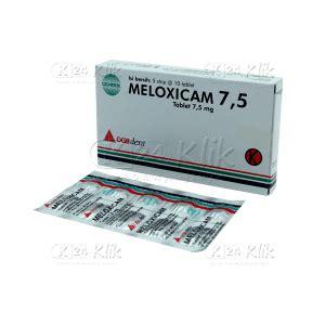 Obat Meloxicam jual beli meloxicam 7 5mg antiinflamasi