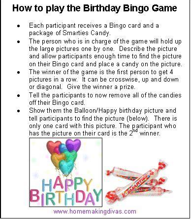 printable bingo instructions bingo instructions homemaking divas