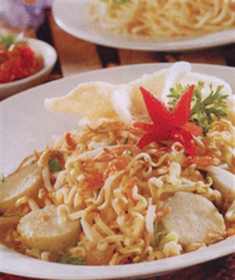membuat mie lontong resep masakan indonesia mie lontong sayur aneka resep