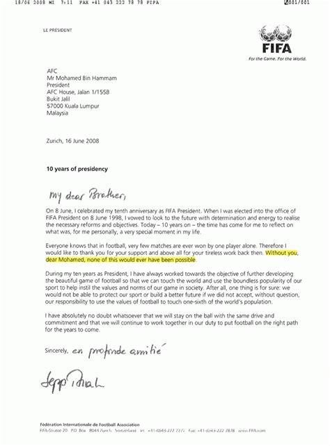 Formaler Brief Englisch Verabschiedung Unter Br 252 Dern Sport Politics