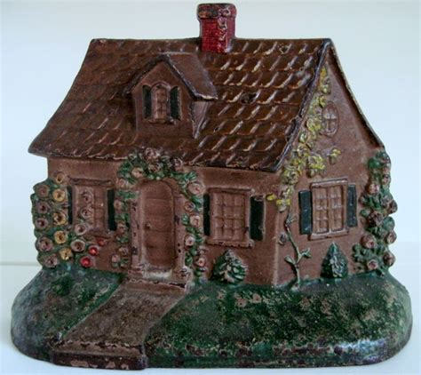 circa 1930 s hubley cast iron cottage doorstop 211 from