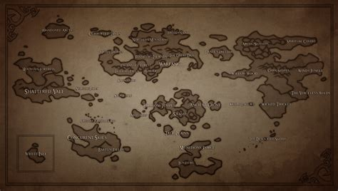 tlos world map  dragonoficeandfire  deviantart