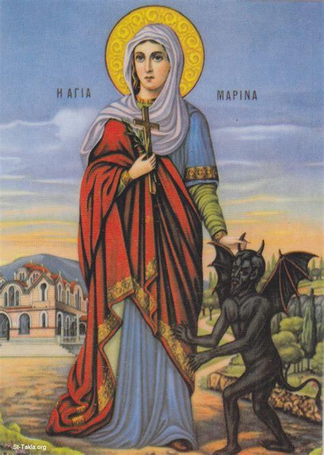 images of st image coptic saints marina 02 03