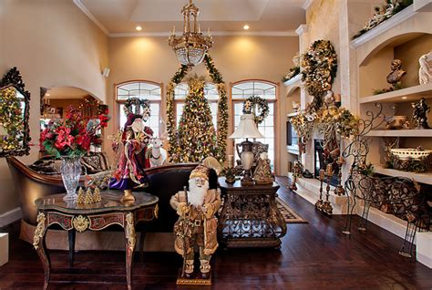interior christmas decorations christmas decor mediterranean living room chicago