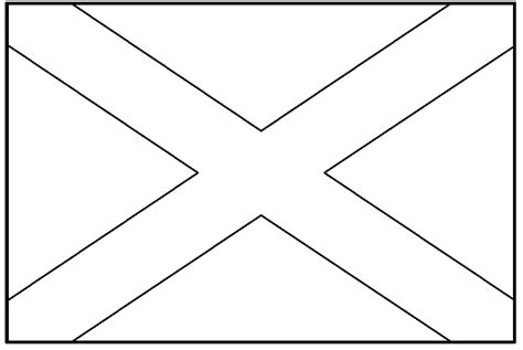 scotland flag coloring page coloring home