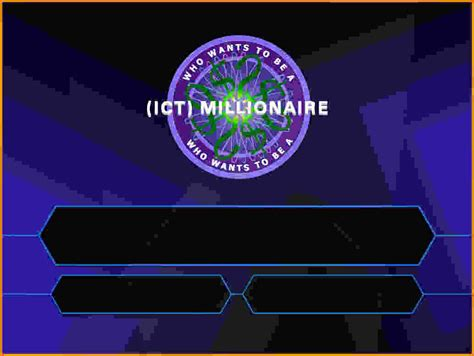 who wants to be a millionaire template www pixshark com